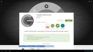Installeren App Authenticator in Origin (2 traps authenticatie)