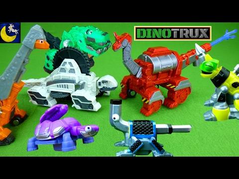 LOTS of NEW Dinotrux Toys Hydrodon Splitter Sawmetrodon Battering Ram Skya Green Ty Rux Revvit Toys!