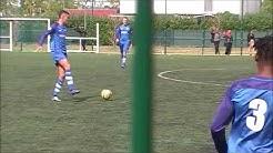 Football U19 Nationaux Colomiers vs Sporting Toulon 1ère mi-temps Match Championnat Saison 2019/2020