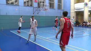 Баскетбол 24.02.2016 МТУСИ - МГАФК