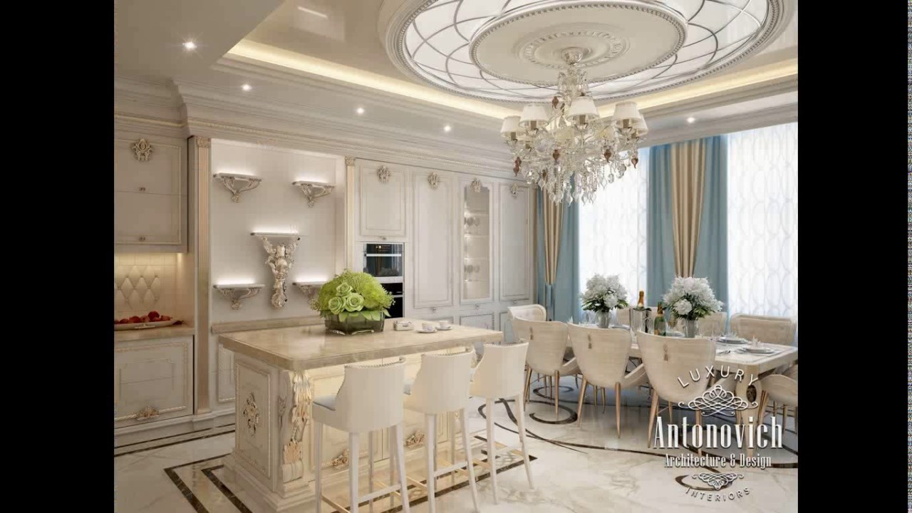 Antonovich design kitchen youtube for Kitchen design qatar