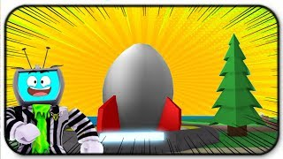Roblox Egg Farm Simulator Rocket To The Moon To FIght An Alien Chicken