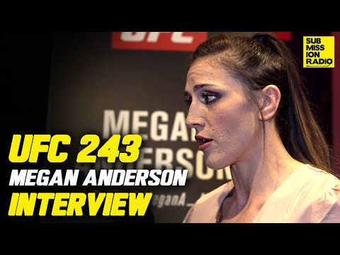 UFC 243: Megan Anderson Opens Up on Mental Health Battle Ahead of UFC 243 thumbnail