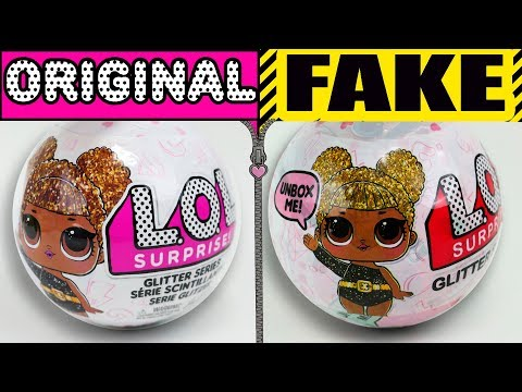 Muñecas LOL surprise Glitter | Falsa Vs Original