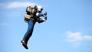 JB-9 jetpack uses actual turbine engines, looks like a smooth ride (Tomorrow Daily 274)