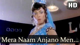 Video Mera Naam Anjano Me - Ustadi Ustad Se Song - Vinod Mehra - Asha Bhosle - Mohammed Rafi - Filmigaane download MP3, 3GP, MP4, WEBM, AVI, FLV November 2017