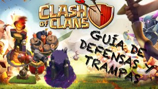 Emplumaitor 065 - Guía de defensas y trampas - Sucos Clash of Clans