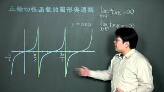 正餘切弦函數的圖形與週期