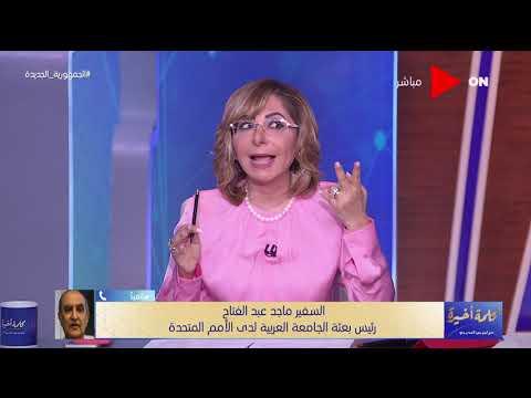 هل لجوء مصر والسودان إلي الأمم المتحدة سيكون له فائدة .. رئيس بعثة جامعة الدول العربية يرد  - 22:54-2021 / 6 / 15
