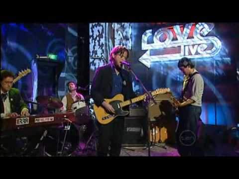 Augie March - One Crowded Hour on Rove Live (HQ & WS)