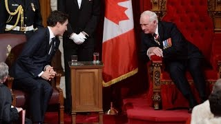 Justin Trudeau era begins with the speech from the throne
