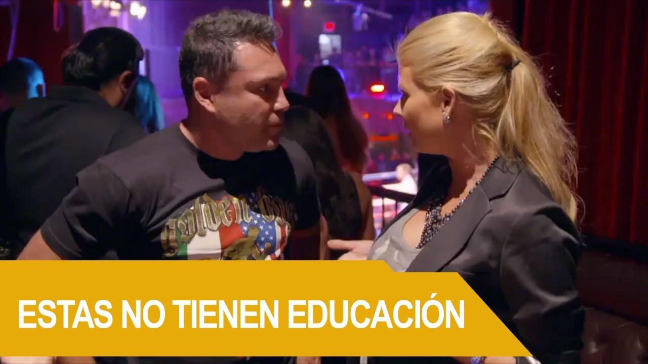De la Hoya a punto de subir al ring a Sandra y Andrea | Rica Famosa Latina | Temporada 3 Episodio 27