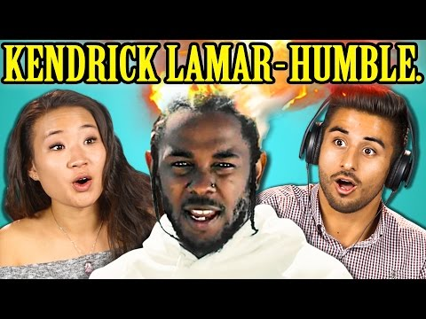 COLLEGE KIDS REACT TO KENDRICK LAMAR  HUMBLE