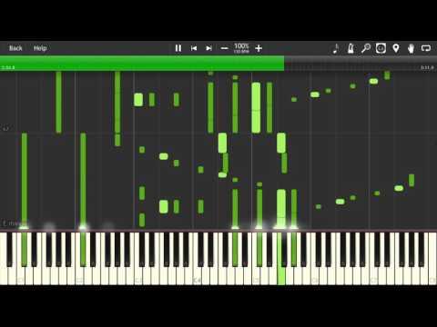 Swordland - Sword Art Online (Main Theme) - Animenzz [Piano Tutorial] (Synthesia)