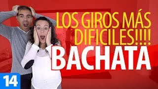 Los GIROS de BACHATA más DIFÍCILES | Cómo Bailar Bachata
