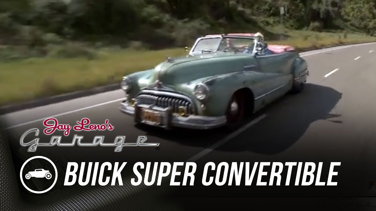 Icon Derelict 1948 Buick Super Convertible Jay Lenos Garage 1951 Youtube
