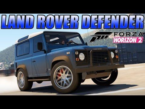 Forza Horizon 2 Custom Cars - #5 Land Rover Defender & October DLC Pack Reaction !!!