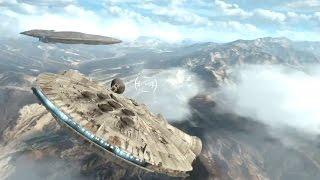 ПОЛЕТ НА СОКОЛЕ Star Wars Battlefront На русском 3 HD Играем первыми