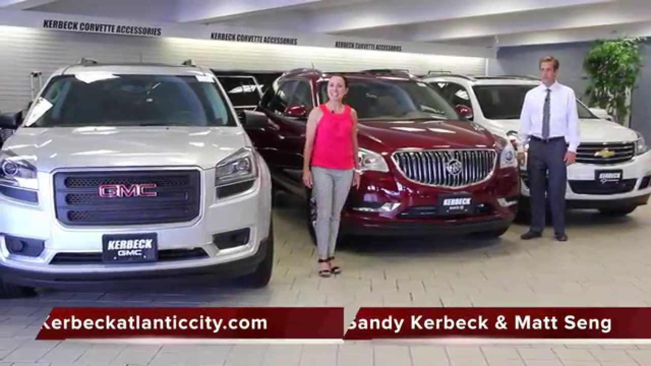 Kerbeck 2016 GM Crossover SUV Lineup   YouTube Kerbeck 2016 GM Crossover SUV Lineup  Kerbeck Atlantic City