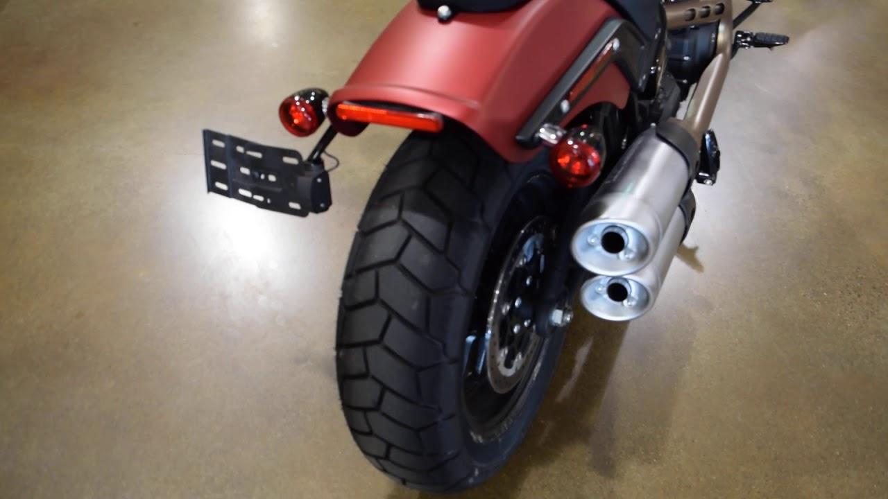 2019 Harley-Davidson Fat Bob - YouTube