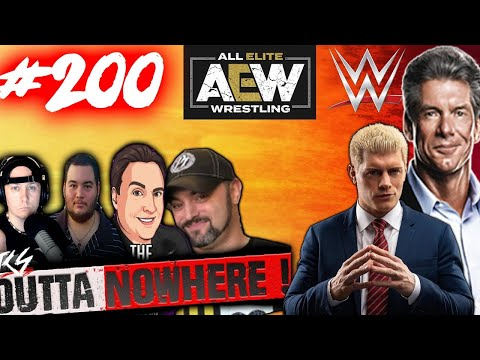 OUTTA NOWHERE #200 - NXT Defeats AEW In Ratings ! WWE News  200 EP PARTY !
