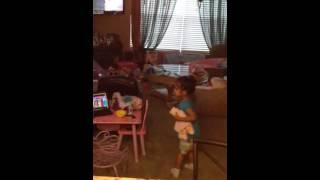 Blue Ribbon Bunny Dance Video