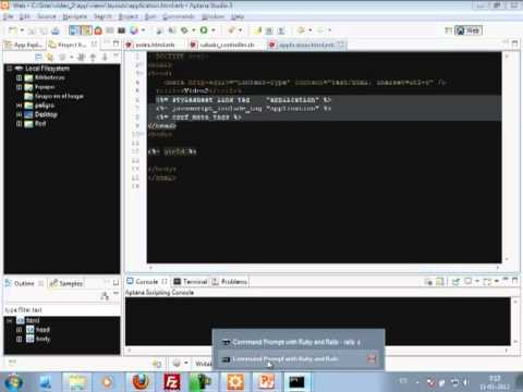 VideoTutorial 2 del Curso de Ruby on Rails