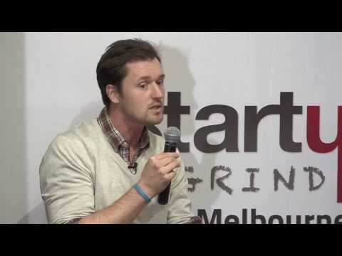 Stuart B. Richardson (Adventure Capital) at Startup Grind Melbourne
