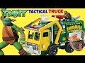 Teenage Mutant Ninja Turtle TMNT Tactical Tartaruga Truck Play Set