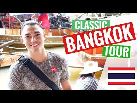 Floating Market | Maeklong Train Station | THAILAND : Travel Vlog 001