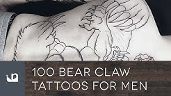 100 Bear Claw Tattoos For Men
