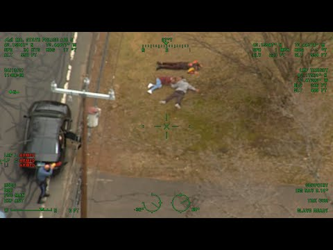 Pursuit suspects surrender to Air 5
