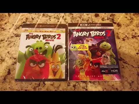 Angry Birds 2 4k Uhd Blu Ray And Digital Code Set Youtube