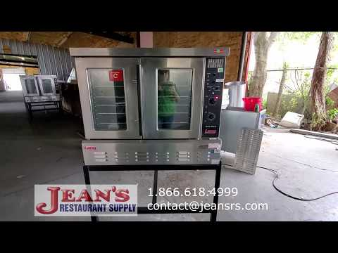 used-restaurant-equipment-(gas-convection-oven)-gcco-ap-used-lang-convection-oven