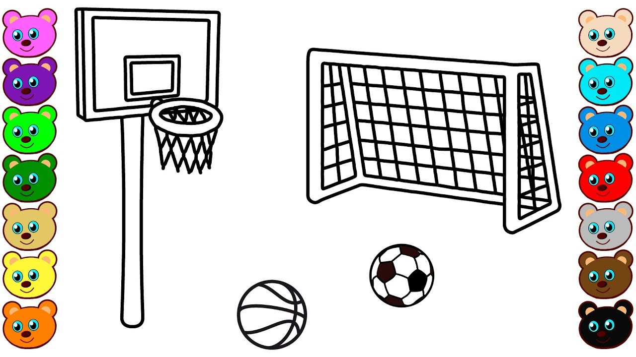 940 Top Soccer Ball Coloring Pages For Preschoolers Images & Pictures In HD