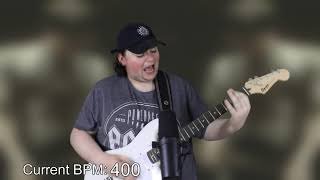 a cover of Song 2 by Blur except the tempo changes with every