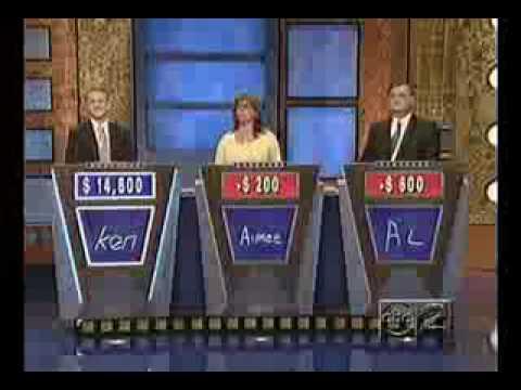 Funny Jeopardy Question Ken Jennings Ho Rake Question