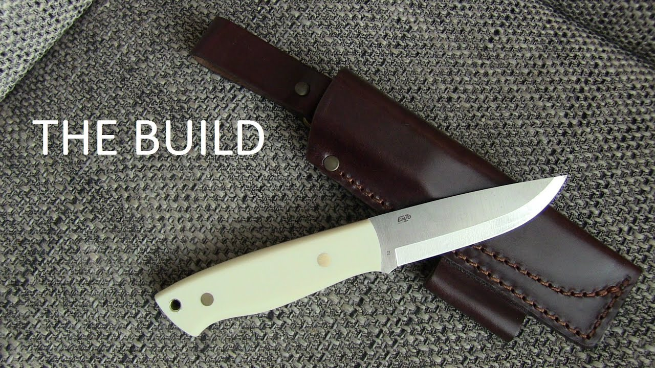 The bushcraft knife how to build the enzo trapper kit youtube solutioingenieria Choice Image