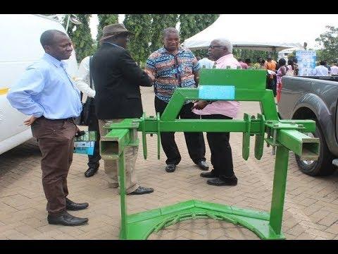 FAO commends Ghanaian mechanical cassava harvester inventor