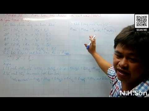 Ôn tập Hóa Học – Phần 32 ( Tính chất hóa học của axit HNO3 và bài tập tt )