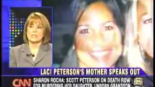 Sharon Rocha interviewed by Larry King, after Scott Peterson was convicted of murdering Laci