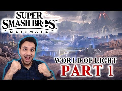 Let's Procrastinate With Super Smash Bros Ultimate - FIRST TIME - PART 1