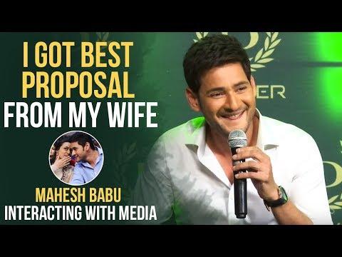 Super Star Mahesh Babu Super Fun Answers To Media Questions @ Denver Press Meet