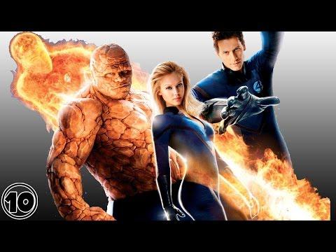 Top 10 Fantastic Four Surprising Facts