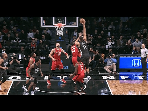 premium selection 8c880 262ad Brook Lopez Throws Down Statue of Liberty Dunk | 2.5.17