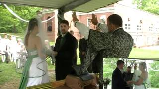 Richard & Triana Celtic Handfasting Wedding 5-5-2012