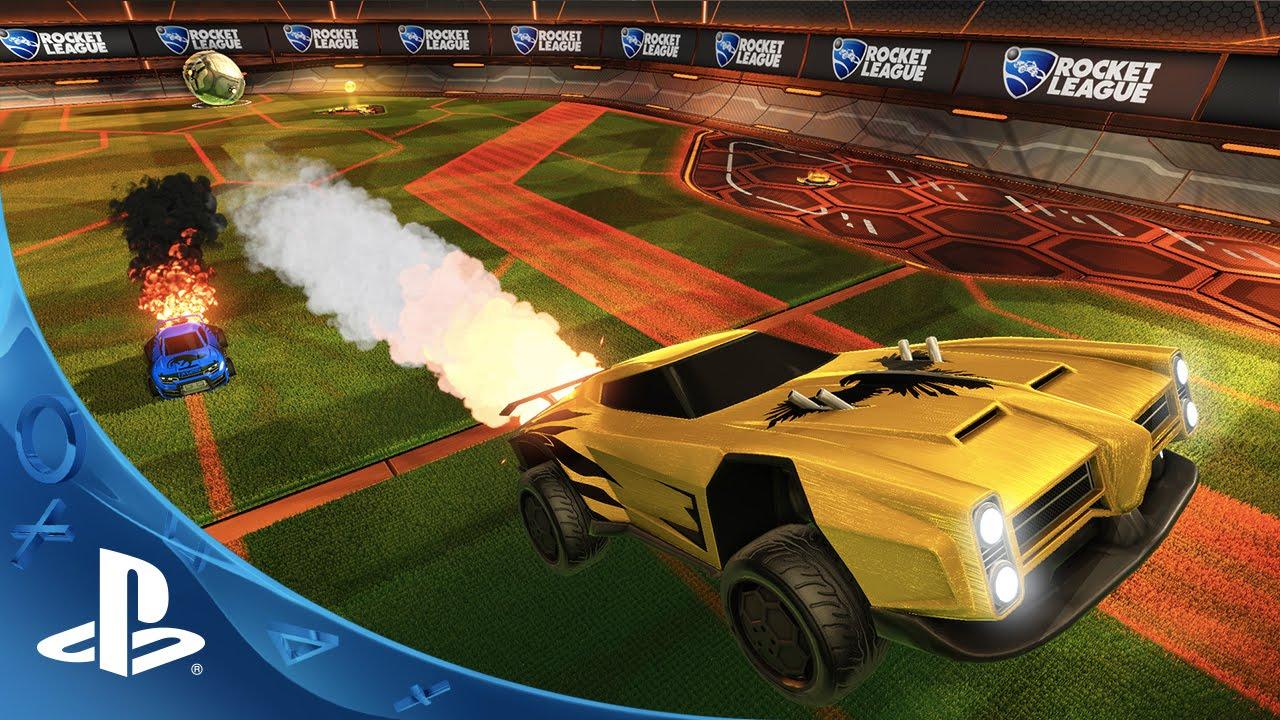 Rocket League - Supersonic Fury DLC Pack Trailer | PS4