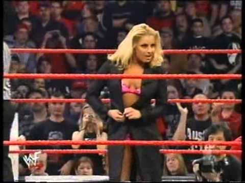 WWE-Trish Stratus vs Terri Lingerie Paddle Pole Match from YouTube · Duration:  4 minutes 31 seconds