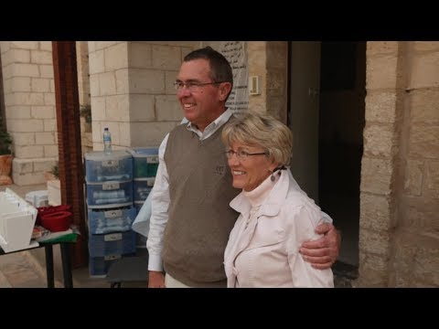 Renewing Wedding Vows in Cana in the Holy Land