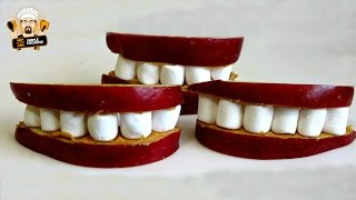 HOW TO MAKE HALLOWEEN TEETH